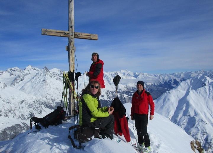 Skitour Toinigspitz 2666 m