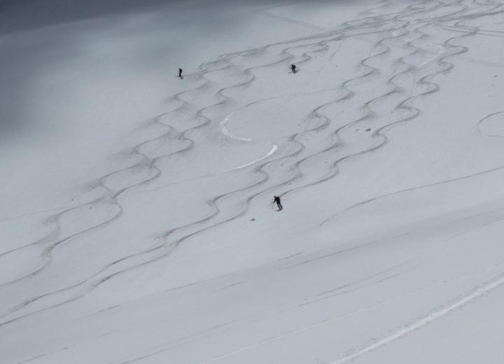 Skitour Westliche Simonyspitze 3481 m